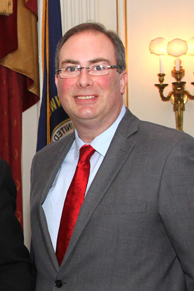 Timothy Longmeyer at a March 2015 Personnel Cabinet event