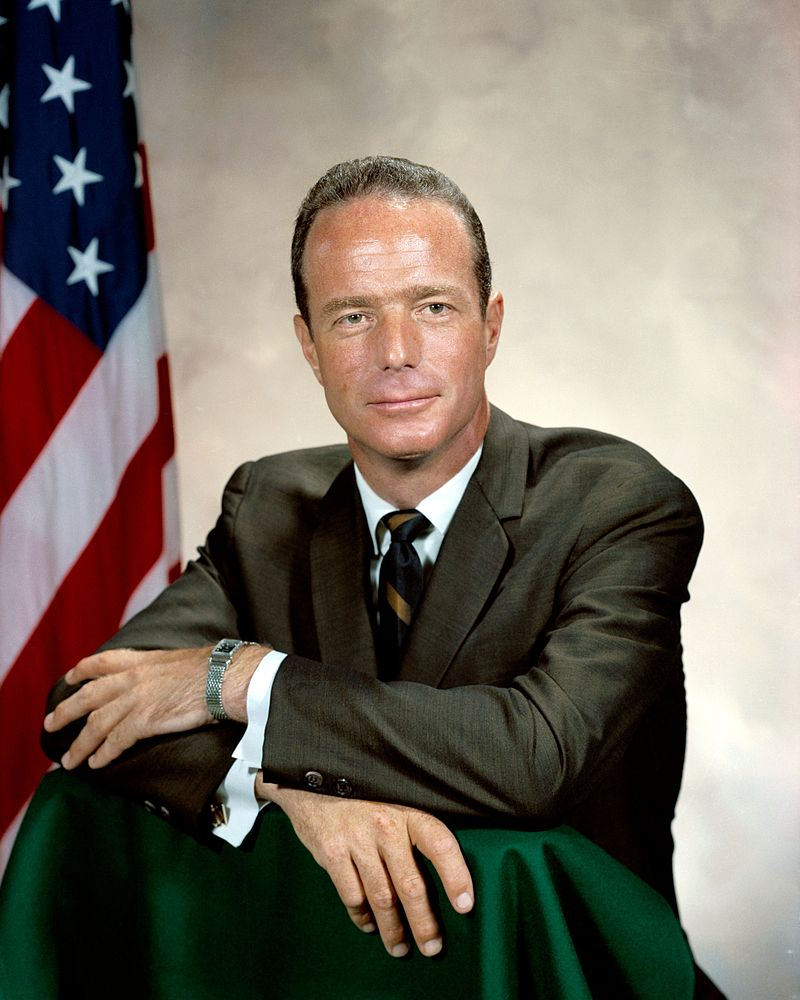 Scott Carpenter, who died in 2013 at age 88, evidently had no connection to Aurora. He was from Colorado but like the other astronauts, he was honored as a national hero (Photo Provided)