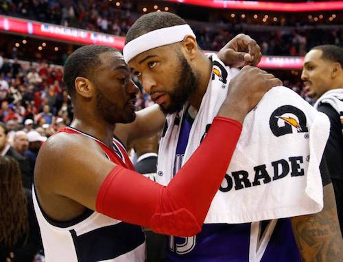 John Wall and DeMarcus Cousins will play in an NBA exhibition game at Rupp Arena on Oct. 15