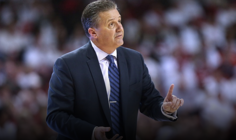 Kentucky coach John Calipari spoke to media members Tuesday about the upcoming NBA Draft. As many as three Wildcats could be selected in the first round (UK Athletics Photo)