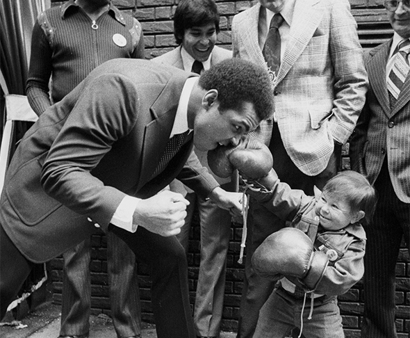 Muhammad Ali, photo from his website