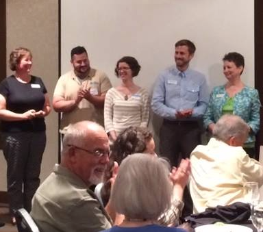 Habitat team accepts award for top program in state