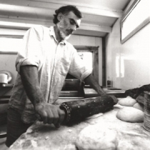 Pizza -- handmade with local ingredients
