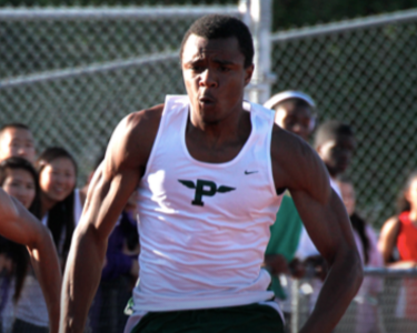 E.J. Floreal will join his father's track and field team this fall