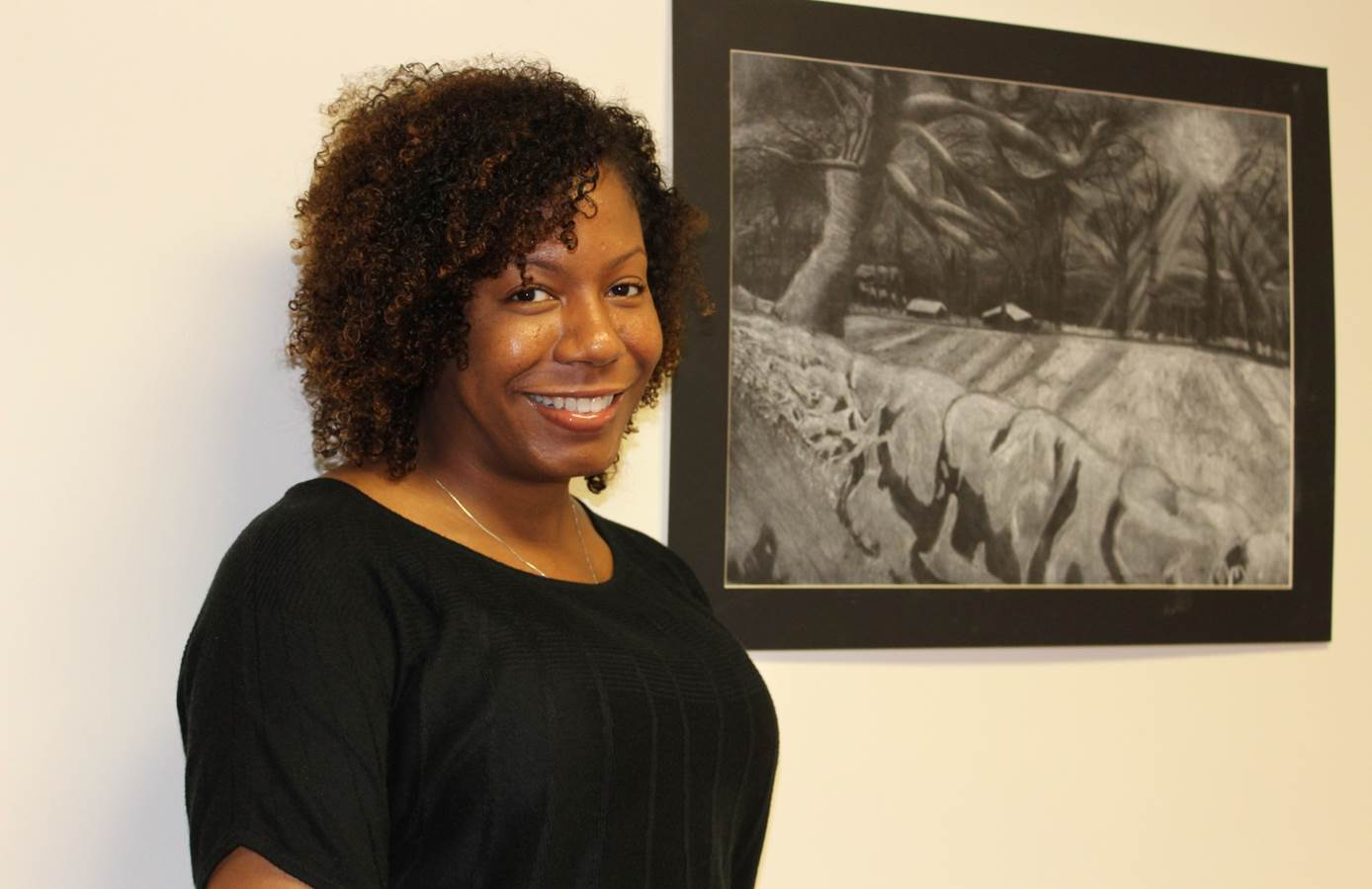Miranda Scully (pictured) and Rose Santiago are excited about the Family University initiative, which launched this fall. (Photo Provided)