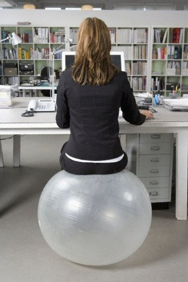 With The New Active Workstation Craze In Workplace Idea Of Sitting On These Exercise Instead A Traditional Office Chair Has Indeed Crept