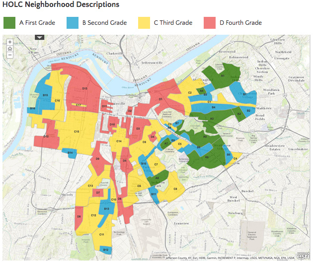 Redlining Louisville: City launches interactive map tracing