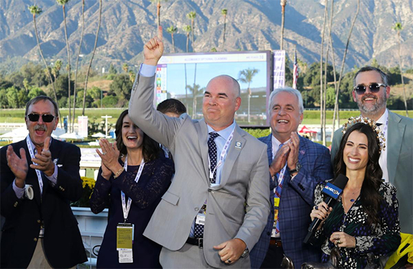 Eclipse Award Champion Storm The Court Has Owners Trainer